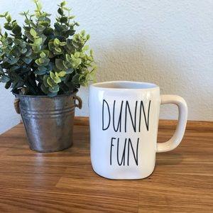 Rae Dunn DUNN FUN mug